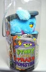 Stinky Little Trash Monsters 15 inch Plush Figure - Sludgy (blue) Jay at Play, Stinky Little Trash Monsters, Plush, 2011, cute animals