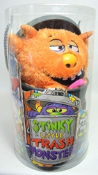 Stinky Little Trash Monsters 15 inch Plush Figure - Gooey (ochre) Jay at Play, Stinky Little Trash Monsters, Plush, 2011, cute animals