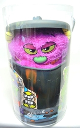 Stinky Little Trash Monsters 15 inch Plush Figure - Yucky (purple) Jay at Play, Stinky Little Trash Monsters, Plush, 2011, cute animals