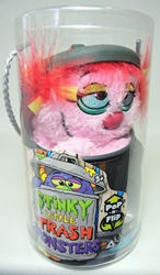 Stinky Little Trash Monsters  9 inch Plush Figure - Shabby (pink) Jay at Play, Stinky Little Trash Monsters, Plush, 2011, cute animals