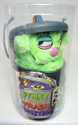 Stinky Little Trash Monsters  9 inch Plush Figure - Gloppy (green) Jay at Play, Stinky Little Trash Monsters, Plush, 2011, cute animals