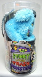 Stinky Little Trash Monsters  9 inch Plush Figure - Sludgy (blue) Jay at Play, Stinky Little Trash Monsters, Plush, 2011, cute animals