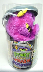 Stinky Little Trash Monsters  9 inch Plush Figure - Yucky (purple) Jay at Play, Stinky Little Trash Monsters, Plush, 2011, cute animals