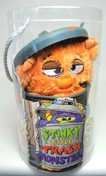 Stinky Little Trash Monsters  9 inch Plush Figure - Gooey (ochre) Jay at Play, Stinky Little Trash Monsters, Plush, 2011, cute animals