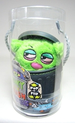 Stinky Little Trash Monsters  5 inch Plush Figure - Gloppy (green) Jay at Play, Stinky Little Trash Monsters, Plush, 2011, cute animals