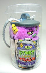 Stinky Little Trash Monsters  5 inch Plush Figure -  Yucky (purple) Jay at Play, Stinky Little Trash Monsters, Plush, 2011, cute animals