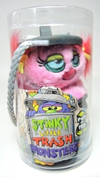 Stinky Little Trash Monsters  5 inch Plush Figure - Shabby (pink) Jay at Play, Stinky Little Trash Monsters, Plush, 2011, cute animals
