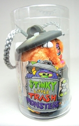 Stinky Little Trash Monsters  5 inch Plush Figure - Grimy (orange) Jay at Play, Stinky Little Trash Monsters, Plush, 2011, cute animals
