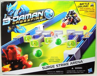 B-Daman Crossfire - Surge Strike Arena Set Hasbro, B-Daman, Action Figures, 2013, scifi, game