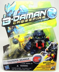 B-Daman Crossfire - 3 inch figure - BD-12 Thunder Bearga Hasbro, B-Daman, Action Figures, 2013, scifi, game