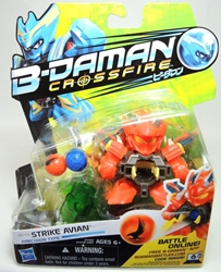 B-Daman Crossfire - 3 inch figure - BD-06 Strike Avian Hasbro, B-Daman, Action Figures, 2013, scifi, game