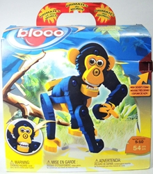 Bloco Toys Building Set - Chimpanzee (54 foam pieces) Bloco Toys, Bloco, Legos & Mega Bloks, 2010