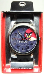 Angry Birds Watch - Black MZBerger & Co, Angry Birds, Watch, 2013|Color~black, cute animals, video game