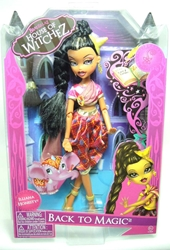 Bratzillaz Back to Magic - Illiana Honesty doll