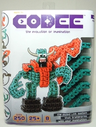Codee Series 1 Monsters Mega Pack (green) - As Seen on TV Techno Source, Codee, Legos & Mega Bloks, 2012