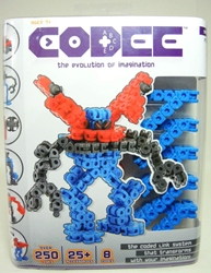 Codee Series 1 Robots Mega Pack (blue) - As Seen on TV Techno Source, Codee, Legos & Mega Bloks, 2012