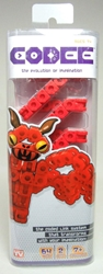 Codee Monsters Bat (red) - As Seen on TV Techno Source, Codee, Legos & Mega Bloks, 2012