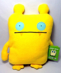 Uglydoll large classic plush doll Nandy Bear (yellow) Pretty Ugly, Uglydoll, Plush, 2010, cute animals