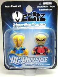 Mezco Mez-itz DC Universe 2 inch Mini figures - Dr Fate & Demon Mezco, DC Universe, Action Figures, 2012, superhero, comic book