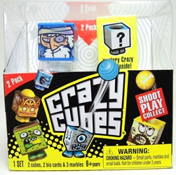 Crazy Cubes 2-pack (random characters) Spin Master, Crazy Cubes, Action Figures, 2012