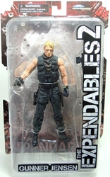 Expendables 7 inch  figure - Gunner Jensen (Dolph Lundgren) Diamond, Expendables, Action Figures, 2012, action, movie