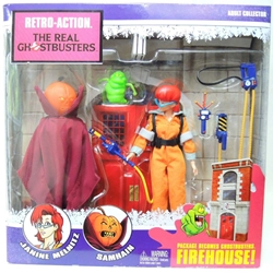 Mattel The Real Ghostbusters 8 inch 2-pack Janine & Samhain Mattel, Ghostbusters, Action Figures, 2011, fantasy, conedy, movie