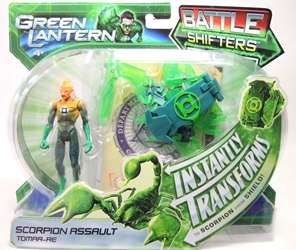 Green Lantern Battle Shifters - Scorpion Assault Tomar-Re Mattel, Green Lantern, Action Figures, 2011, scifi, movie