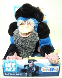 Ice Age plush Captain Gutt 9 inch Just Play, Ice Age, Plush, 2012, dinosaurs, movie
