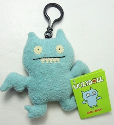 Uglydoll Clip-On 4 inch Ice Bat Pretty Ugly, Uglydoll, Plush, 2002, cute animals