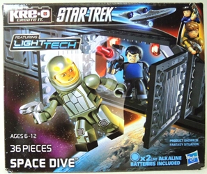 KRE-O A3138 Star Trek Space Dive Set Hasbro, Star Trek, Legos & Mega Bloks, 2013, scifi, tv show, movie