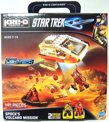 KRE-O A3139 Star Trek Spocks Volcano Mission Hasbro, Star Trek, Legos & Mega Bloks, 2013, scifi, tv show, movie
