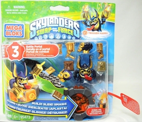 Mega Bloks Skylanders Swap Force Trigger Happy Battle Portal 95473 Mega Bloks, Skylanders, Legos & Mega Bloks, 2013, fantasy, video game