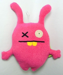 Uglydoll Little Uglys 7 inch plush - Ugly Charlie (pink) Pretty Ugly, Uglydoll, Plush, 2011, cute animals