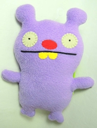 Uglydoll Little Uglys 7 inch plush - Trunko (purple) Pretty Ugly, Uglydoll, Plush, 2011, cute animals