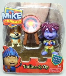 Fisher-Price Mike the Knight 3 inch figure - Trollee & Yip