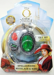 Disney Oz The Great and Powerful - Spellbinding Necklace & Ring CDI, Oz The Great and Powerful, Necklace, 2013|Color~green, fantasy, movie