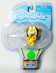 Poptropica 2 inch Pocketeer figure - Cowardly Lion Jazwares, Poptropica, Action Figures, 2012