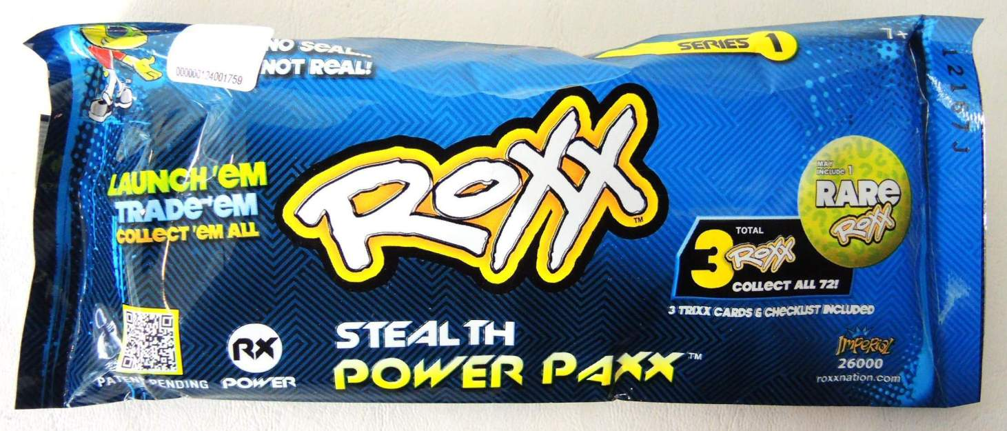 Roxx Stealth Power Paxx Imperial, Roxx, Games, 2012