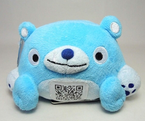 Scanimalz Series 1 BearAPPy (blue bear) Wicked Cool, Scanimalz, Plush, 2012, cute animals