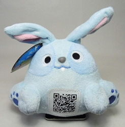 Scanimalz Series 1 Hareabyte (blue bunny) Wicked Cool, Scanimalz, Plush, 2012, cute animals