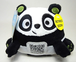 Scanimalz Series 1 Silly Scanda (panda) Wicked Cool, Scanimalz, Plush, 2012, cute animals