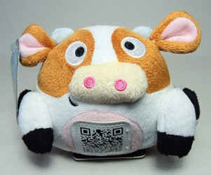 Scanimalz Series 1 Silly MOOsic (cow) Wicked Cool, Scanimalz, Plush, 2012, cute animals
