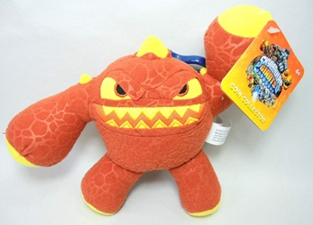 Skylanders 7 inch plush Clip-On Coin Purse - Eruptor Just Play, Skylanders, Plush, 2012, fantasy, video game