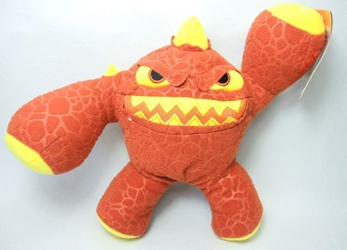 Skylanders 7 inch Toss Em plush - Eruptor Just Play, Skylanders, Plush, 2012, fantasy, video game