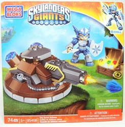 Skylanders Giants 95408 Sky Turret Defense with Chill Figure Mega Bloks, Skylanders, Legos & Mega Bloks, 2012, fantasy, video game