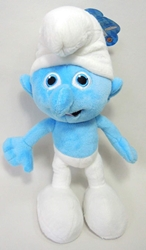 Smurfs 10 inch plush Clumsy Jakks, Smurfs, Plush, 2013, animated, cartoon, movie