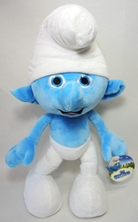 Smurfs 20 inch jumbo plush Clumsy Jakks, Smurfs, Plush, 2011, animated, cartoon, movie
