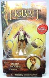 The Hobbit 3 inch Figure Bilbo Baggins The Bridge Direct, The Hobbit, Action Figures, 2012, fantasy, movie