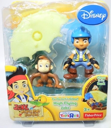 Disney Jake Neverland Pirates - High Flying Jake & monkey