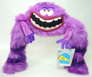 Disney Pixar Monsters University plush - Art 12 inch Disney Pixar, Monsters University, Plush, 2013, kidfare, movie
